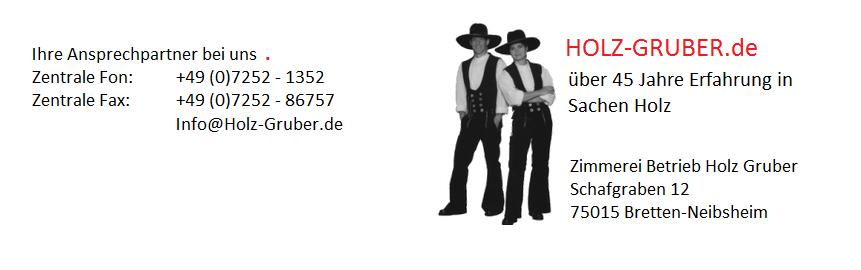 HOLZ-GRUBER.de  - Über 45 Jahre Erfahrung in Sachen HOLZ.